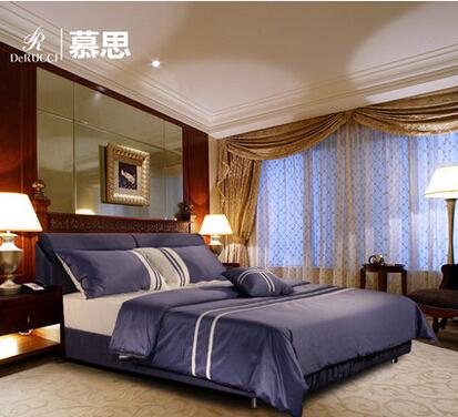 慕思床巴厘岛-海洛布艺床简约现代1.8米布床双人床可拆洗