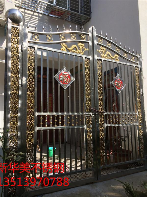 不锈钢工艺庭院门