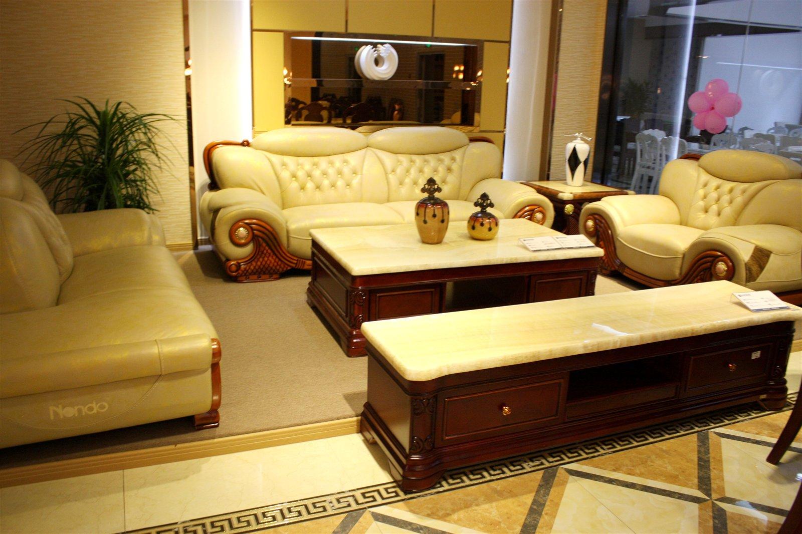欧式浪度沙发图片