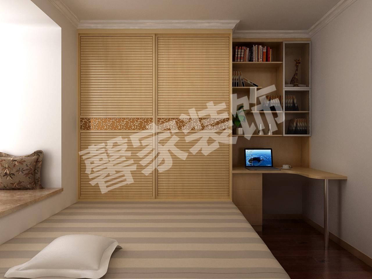 效果图:锦绣天地92平米小三室