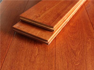 枫桦木实木地板深色