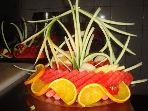 果盘雕花步骤图片