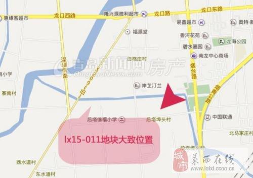 青岛莱西市望城地图