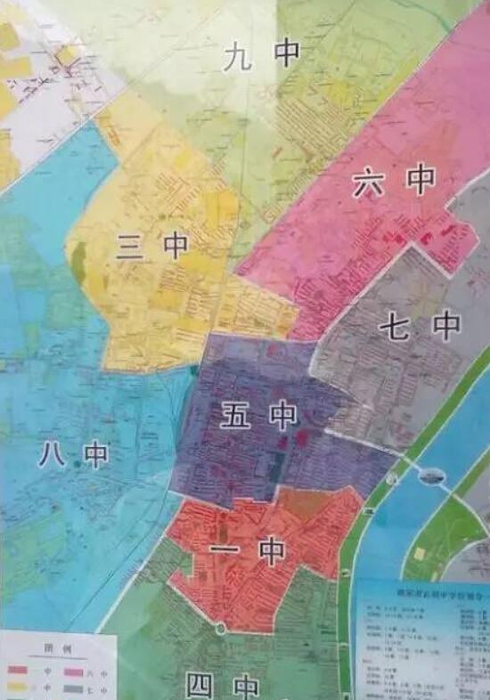 朝阳市初中学区划分