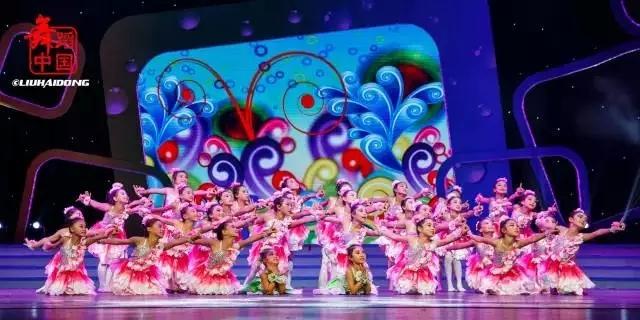 美丽的中国梦舞蹈视频