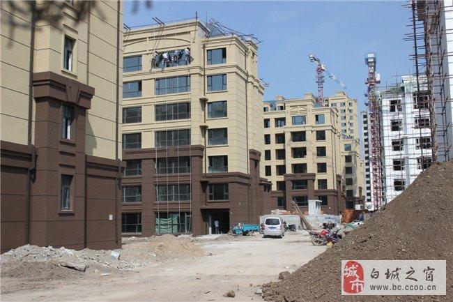 【四季华城】B区8月施工进度播报