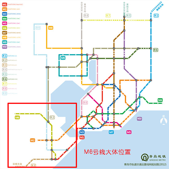 青岛地铁M6号线:黄岛区峨眉山路站黄岛区黄河路站 青岛地铁M6号线建设期限为2015-2018年,是一条贯穿黄岛区的L型线路。自太行山路站起沿着团结路向北,经辛安、红石崖,到达终点王台镇站,线路长约30.6公里。 青岛地铁M7号线:黄岛轮渡柳花泊 这是一条横贯黄岛区的东西向线路,自黄岛码头站起沿黄河路经辛安到柳花泊,全长14.
