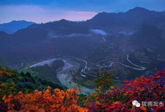 徽县嘉陵镇风景