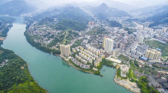 长阳丹水新区构建百亿生态大走廊