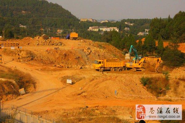 火车站连接线项目加快建设