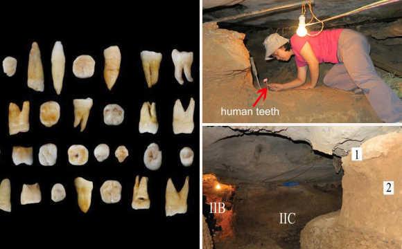 中国科学家发现了东亚地区最古老的现代人化石,它们来自该地区最早出现的现代人类。   对这些化石的研究表明,早在8万年前到12万年前,中国南方地区就出现了跟现存人类很相像的现代人,这比欧洲地区早了3万到7万年。   该研究论文10月15日凌晨1时在线发表在国际顶级学术杂志《自然》(Nature)上,标题为《中国南方地区最早的现代人》(The earliest unequivocally modern humans in southern China),《自然》为该文章配发了专门评论。   14日下午,文