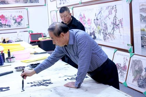 河南文化产业公司到直隶汉润文化传媒交流研讨