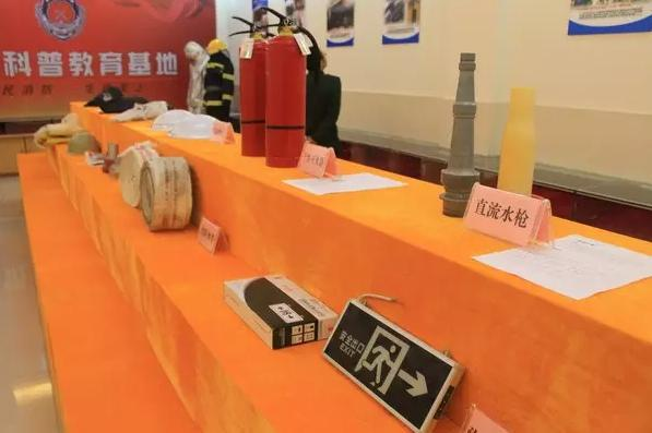 大队依托训练塔,队史室建设消防科普教育基地