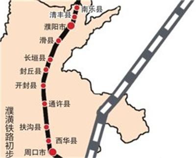 滑县规划建设4个火车站,郑济高铁滑县站在列