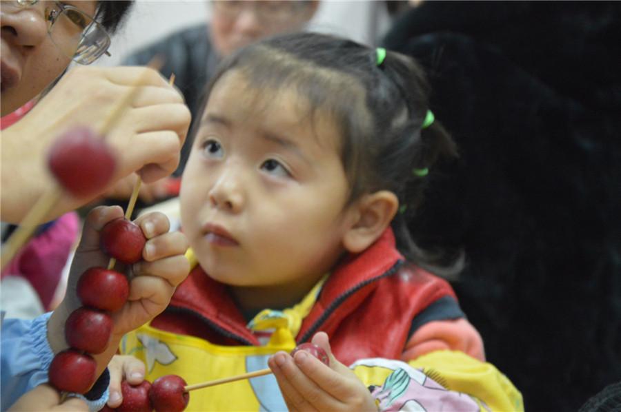 幼儿简单手工小制作糖葫芦