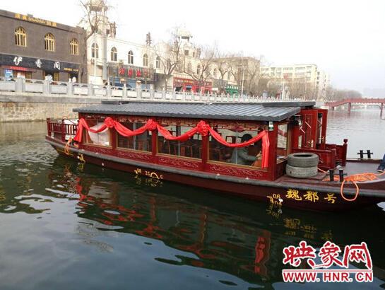 许昌建5.3公里水上观光专线 将投放观光巴士