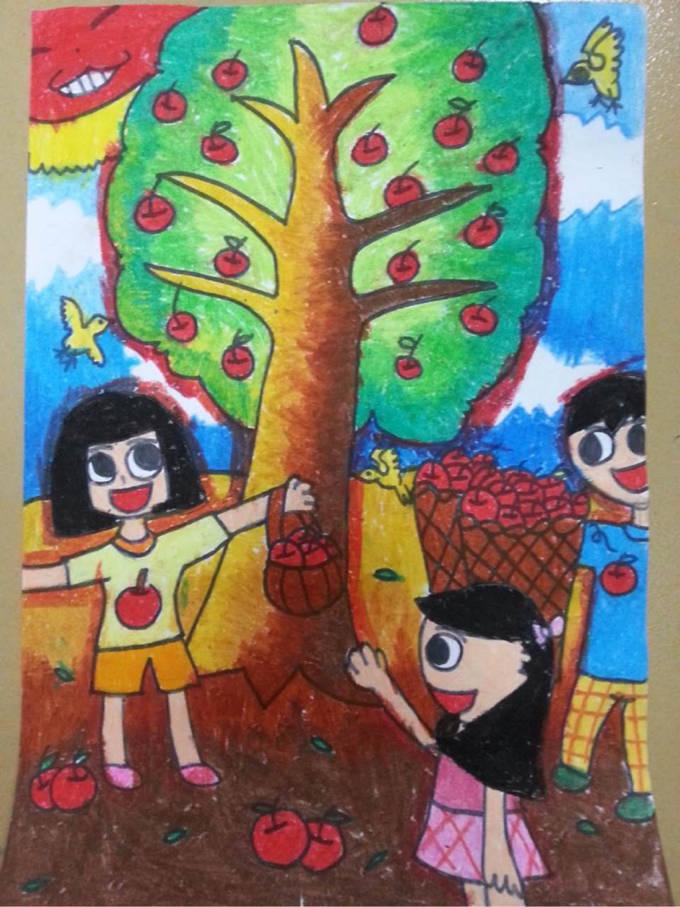 小学艺术节绘画作品_小学生绘画跳蚤市场海报展示_海报大全