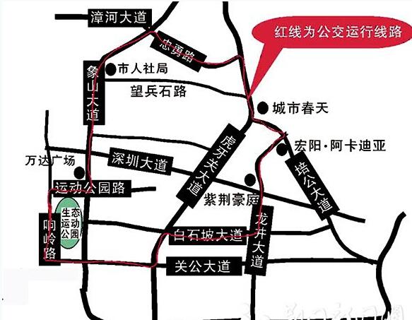 荆门市掇刀区望兵石路6号地图