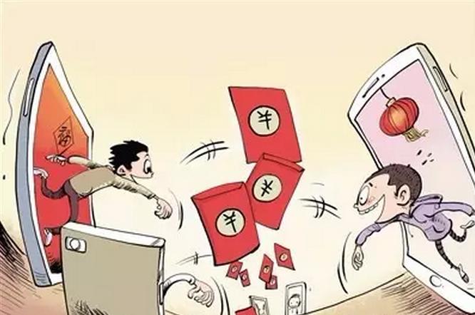 廊坊一初中生春节发微信红包3000多元