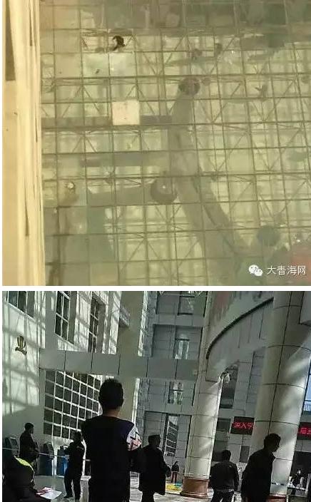 ,青海大学附属医院一老人坠楼身亡
