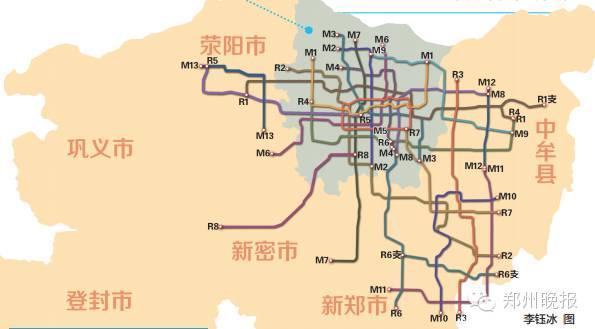 航空港区,东部新城,南部新城,西部新城,以及新郑,新密两座县级市.