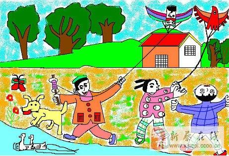 """神华世际广场联合鸿蒙儿童教育一起举办""""描绘春天,放飞梦想""""第一届图片"""