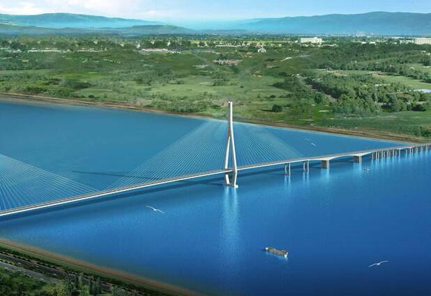 在枞阳县会宫接规划建设的济祁高速合肥至枞阳段以及北沿江高速公路
