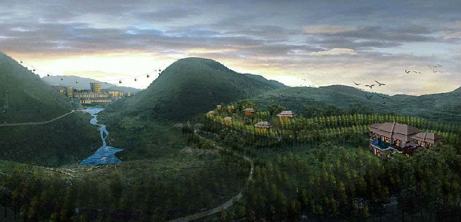 盘县竹海镇旅游景点