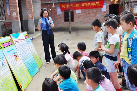 临泉县人民检察院多措并举 关爱未成年人成长
