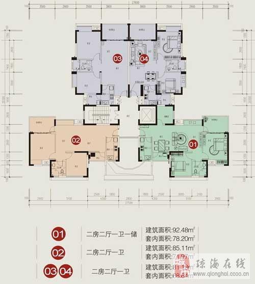 房屋平面设计图梯形