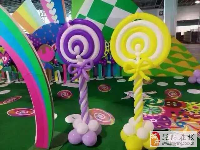 气球造型布置各种庆典活动现场