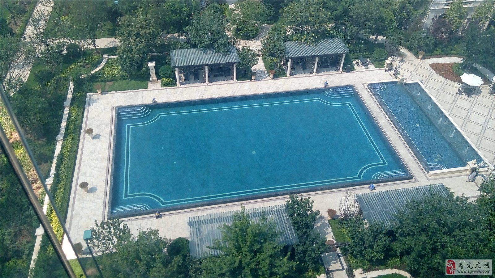 《明珠100%认证房》德润绿城游泳池旁边!开盘抢疯