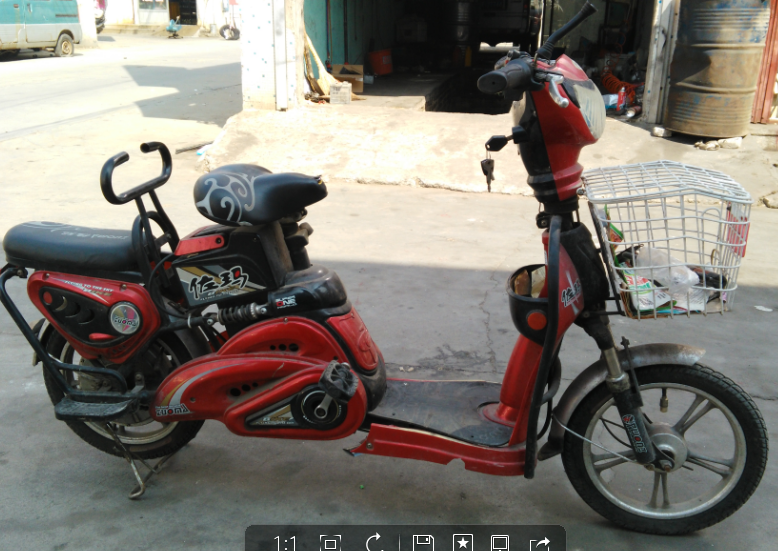 招远卖一首自用电动车一辆