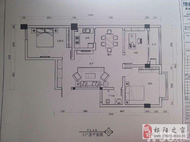 自建房屋三室一厅两卫平面设计图展示