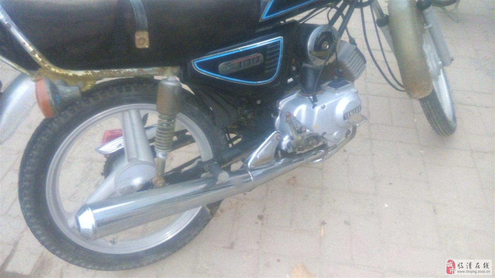 出售95年产进口摩托车一辆