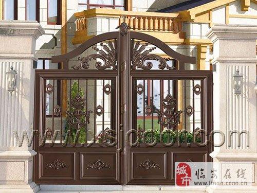 铸铝别墅院墙门