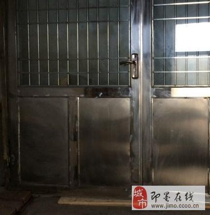 双层钢化玻璃防盗门 自用不到两年