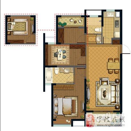 进身8米的房间平面设计图