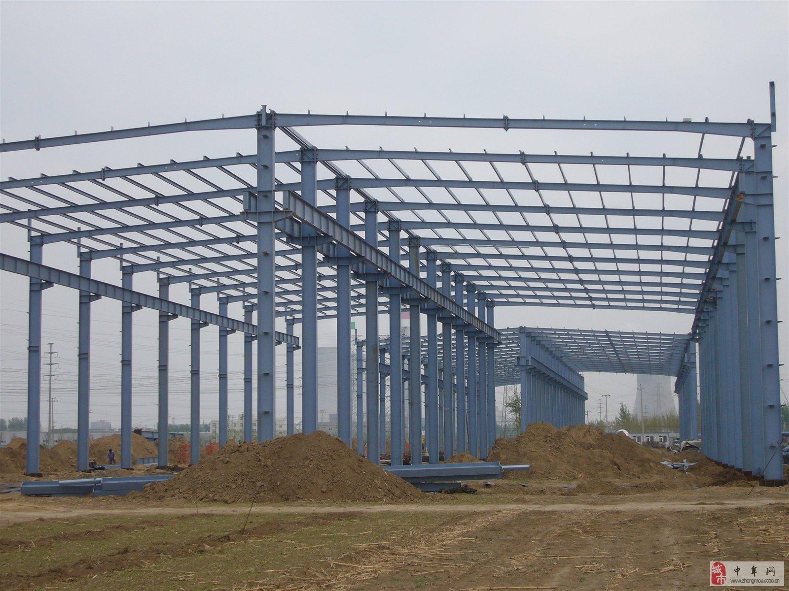 室内钢结构房施工山庄