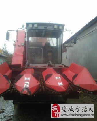 14年爱科大丰王玉米收割机转让 6.3万