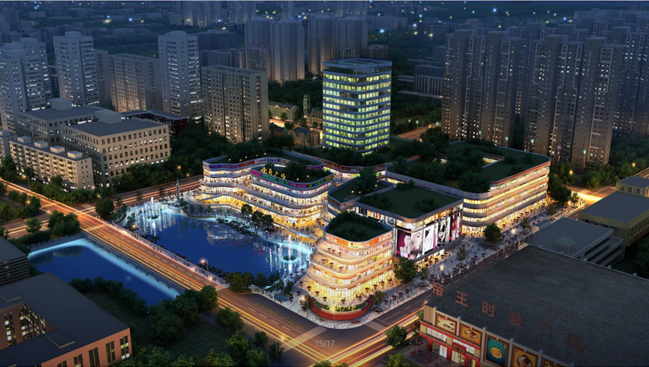 在规划上,荷花湾·金荷广场是由新加坡rsp进行的规划设计,整个规划为1