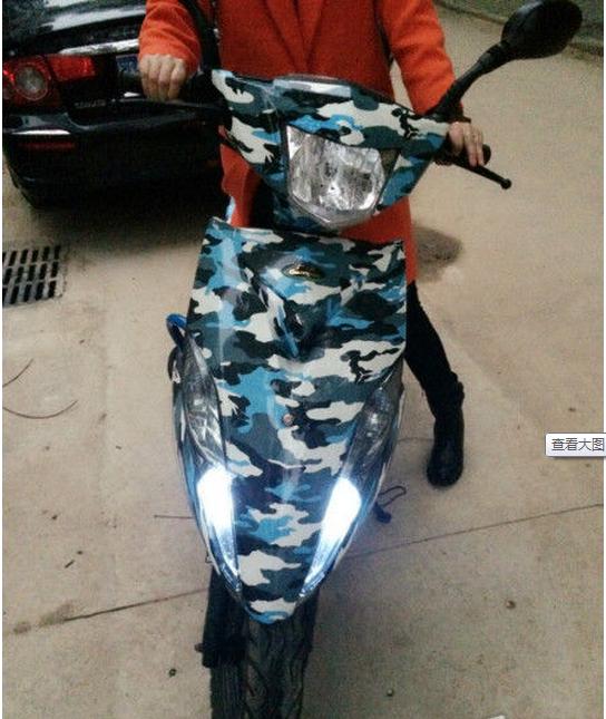 超漂亮,动力十足的原装踏板摩托车,全新,低价转-