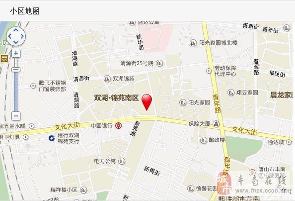 向西过两个路口即为新城区,运河唐人街,北侧有丰南县医院.图片