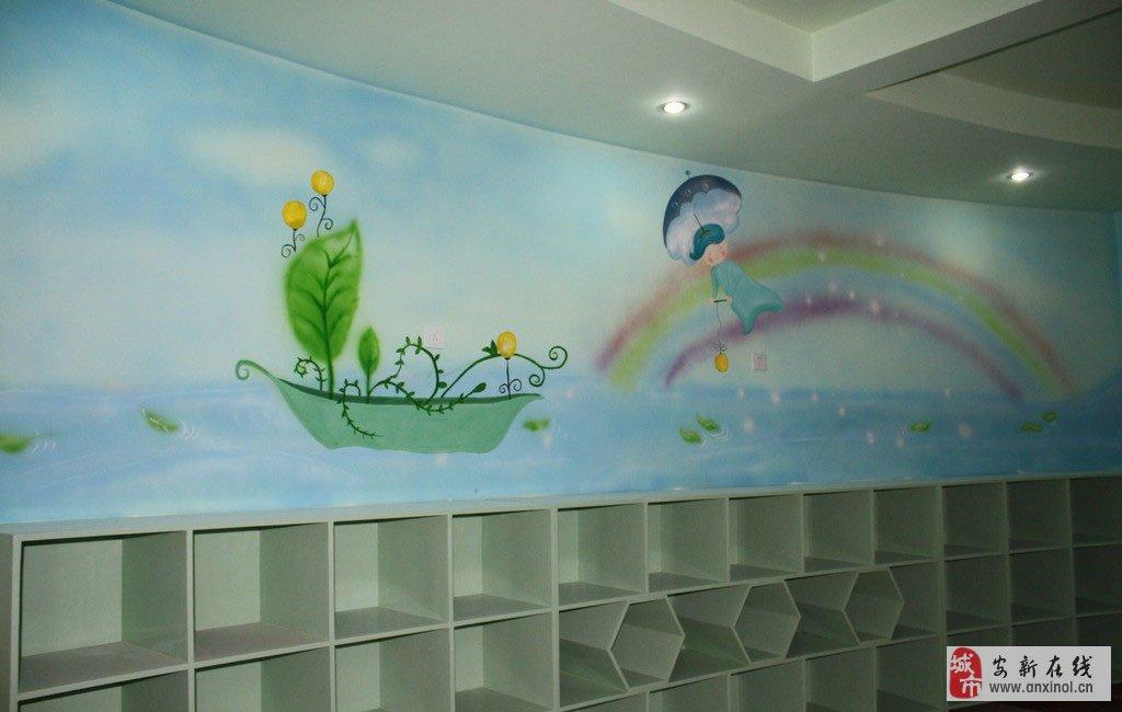幼儿园墙绘,3d墙绘,电视背景墙,企业文化墙绘