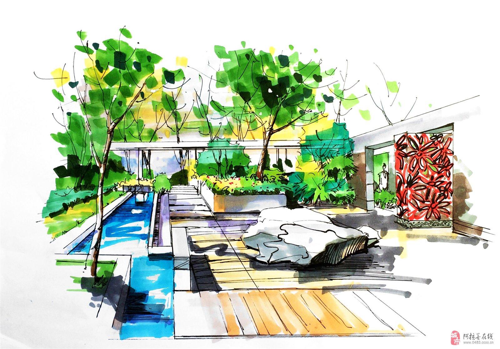 对室内设计和景观规划设计都有一定的学习了解,常用的制图软件有,ps