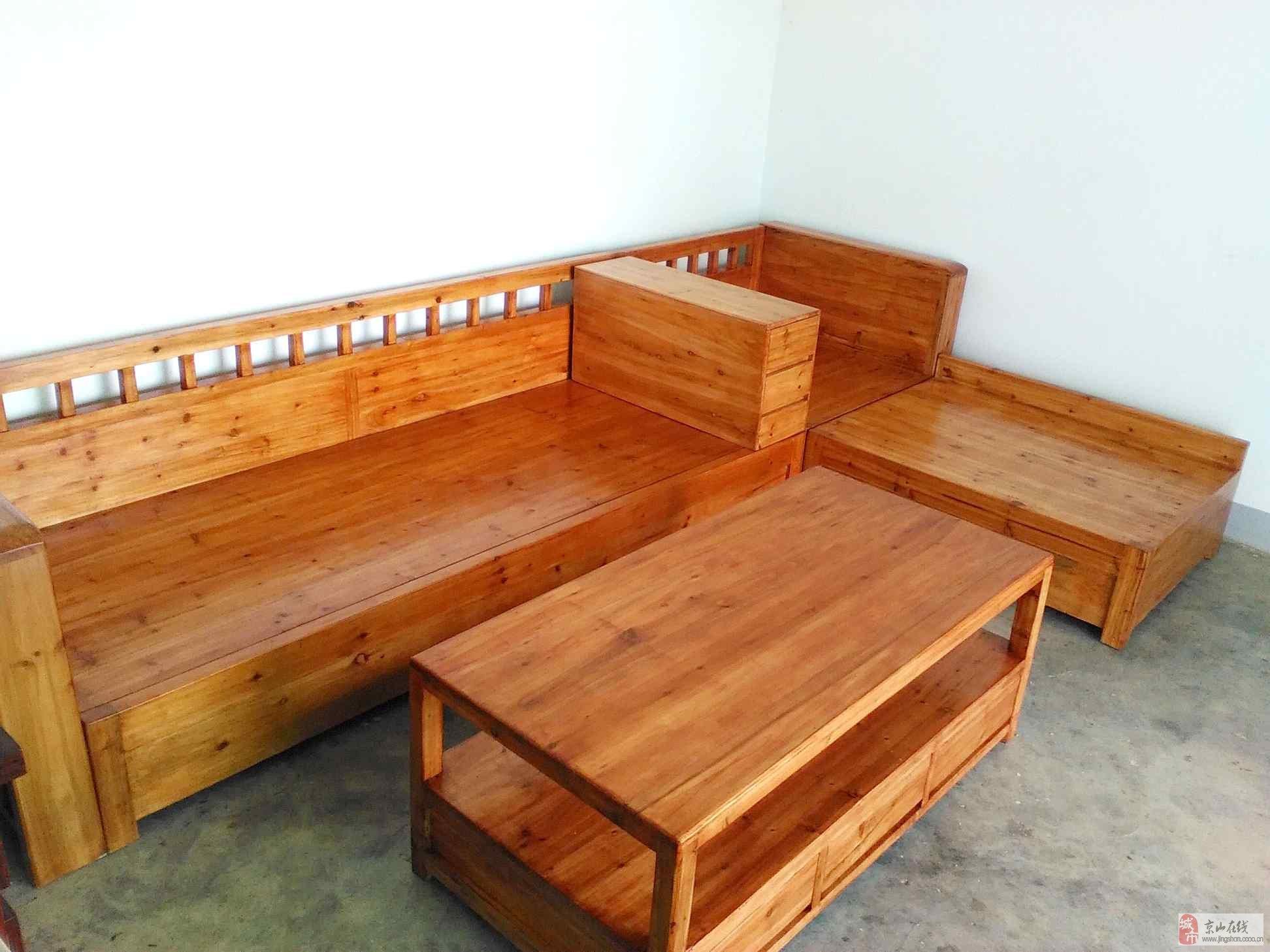 实木多功能沙发2800每套