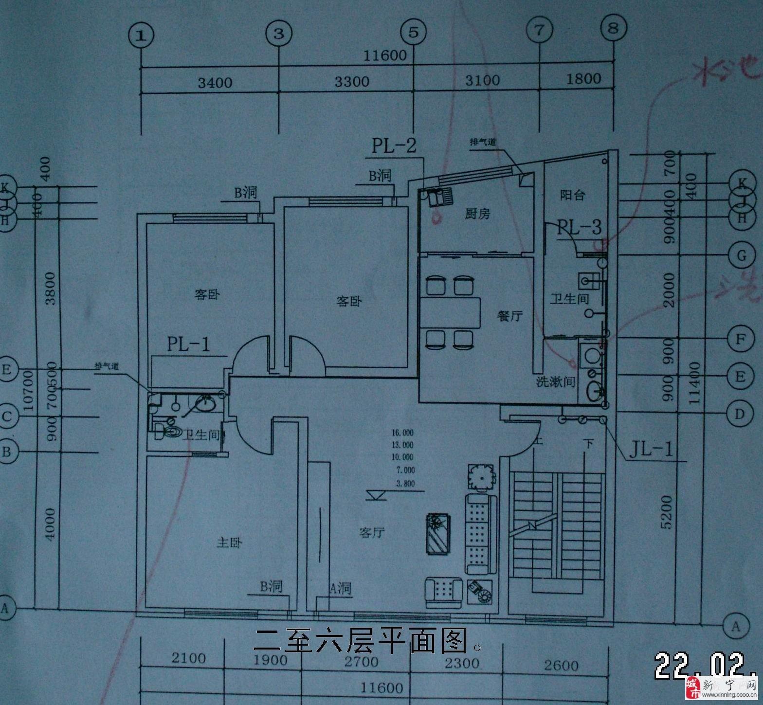 70平方米自建房设计图