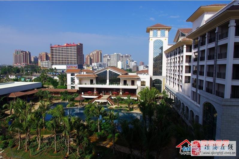 也是海南老城经济开发区乃至海口周边地区最大的,高档公园养生大盘.