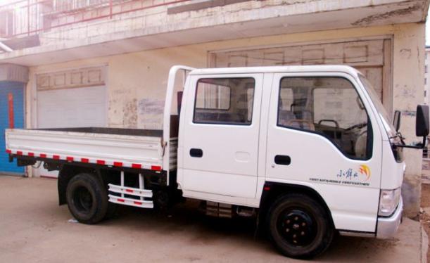 解放双排小货车
