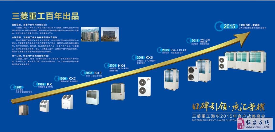 三菱重工海尔(青岛)空调机有限公司由日本三菱重工业株式会社与中国海尔集团于1993年合资组建,投资比例为三菱重工55%、海尔集团45%,是三菱重工在全球最大的商用空调生产基地。 三菱重工拥有世界顶尖的空调核心技术+海尔星级售后服务=强强联手,是家庭中央空调首选品牌。 公司根据用户的装修风格,灵活搭配成整套中央空调解决方案,让用户真正享受到高效、节能、至尊品质的生活。 1.